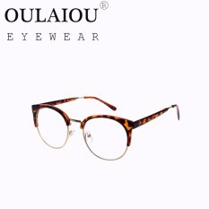 Oulaiou Fashion Accessories Anti-fatigue Trendy Eyewear Reading Glasses OJ29417 - intl