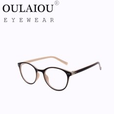 Oulaiou Fashion Accessories Anti-fatigue Trendy Eyewear Reading Glasses OJ9233 - intl