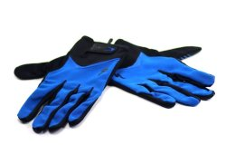 P023 Wiretap Bg-Gel Gloves XL (Black/Blue)