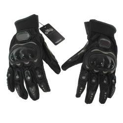 Pair Full Finger Gloves Outdoors Sports Black XL