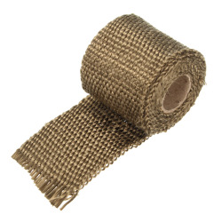 Performance Exhaust Manifold Downpipe Insulating Heat Wrap 2 inch