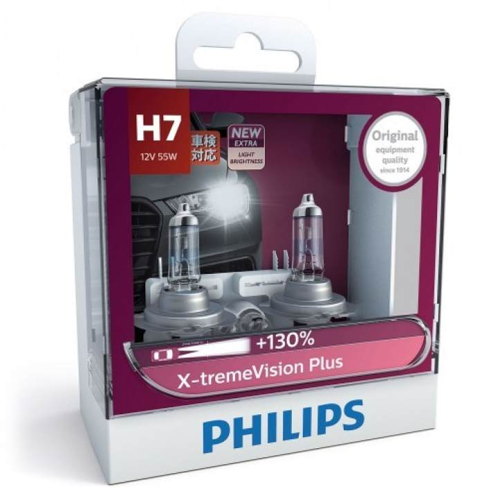philips x treme vision plus 130 h7 headlight bulb. Black Bedroom Furniture Sets. Home Design Ideas