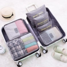 Phoebe's 6 in 1 Travel Laundry secret pouch Clothes Underwear Luggage Organizer Set Packing cube Gift