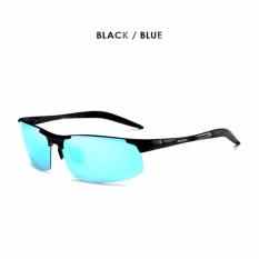 db9f0b78e7a69 Polarized Sunglasse Men Classic Design Police Sun Glasses HD Driving  Accessories Night Goggles - intl
