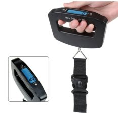 Portable 50kg /10g LCD Digital Hanging Luggage Weight Electronic Scale Travel