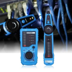 Portable Rj11 Network Phone Telephone Cable Tester Toner Wire Tracker Tracer Diagnose Tone Line Finder Detector Network - Intl By Wilk.