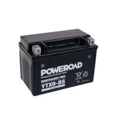 Poweroad Ytx9-Bs (reverse Polarity) Maintenance Free Motorcycle Battery By Sundragon Sales, Inc..