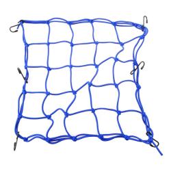 Pratical Motorcycle Mesh Bag String Bag Sundries Net Rope Blue