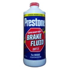 Prestone Brake & Clutch Fluid Super Heavy Duty Dot3 900ml By Edge Auto Supply & Car Accessories.