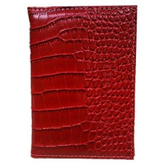 Pu Leather Protective Cover Travel Case Protective Case Passport Holder, Wine Red - intl
