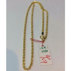 Pure Saudi Gold 18karat Necklace For Men 1.7g L-16inches By 7nj Store.