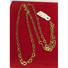 Pure Saudi Gold 18k Necklace For Men 2.3g L-20 Inches By 7nj Store.