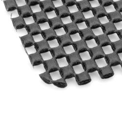PVC Auto Car Soft Anti-slip Mat - Black (15 x 11cm)