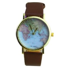 Sell women world map cheapest best quality ph store watches vintage earth map wristwatch black intlphp143 php 143 gumiabroncs Image collections