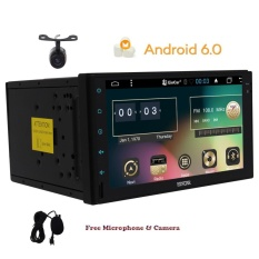 Reverse Camera include Android Car Player without DVD/CD Stereos IN Dash  Double din GPS Navigation Quad-core 1 6G CPU Bluetooth 7inch Capacitive