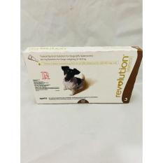 Revolution Spot On For Dogs 60mg Solution 5.1-10.0kg X 3 By Etc Drugstore.