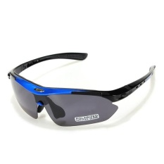 RockBros Polarized Cycling Sun Glasses Outdoor Sports Bicycle Glasses Bike Sunglasses Goggles Eyewear - intl