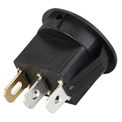Rocker rocker switch with indicator indicating 16MM (Intl)