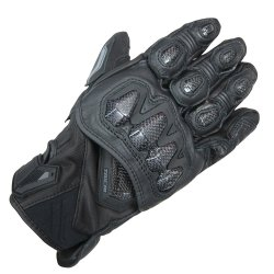 RS Taichi RST422 High Protection Leather Glove (Black)