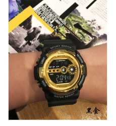Sanda Brand Watch Men Military Sports Mens Watches Top Luxury Waterproof LED Digital For Men Clock Erkek Kol Saati 320 - intl