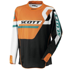 Scott Jersey 450 Track (Black/White/Orange)