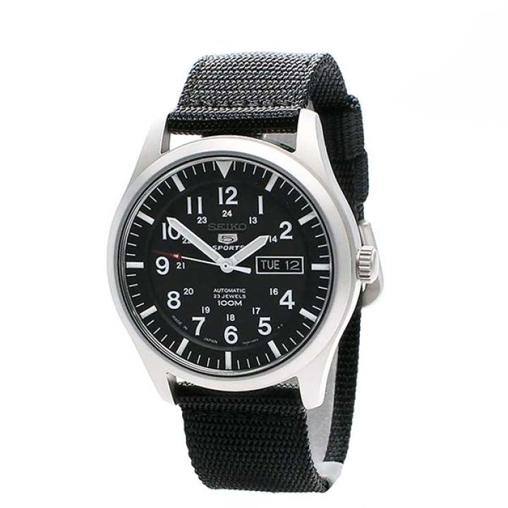 Seiko 5 Sports Automatic Watch (Made In Japan) SNZG15J1 - intl