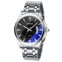 SENDA Brand Men's Tungsten Steel Strap Waterproof Sport Wrist Watch - intl