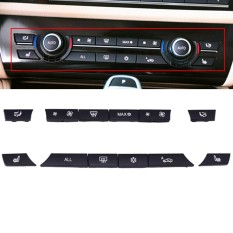Set 12 Button Key Caps Repair Kit A/c Heater Switch For Bmw 5 6 7 F10 F01 F12 - Intl By Qiaosha.