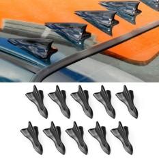 Shark Fin Diffuser Vortex Generator For Windshield Roof Spoiler Bumper - intl