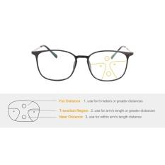 1d45f603b7cc SHINU TR90 Metal Lightweight eyewear Progressive Anti-Blue Light Multifocus Reading  Glasses (up