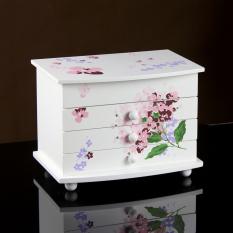 93e651c1570 girl women Simple Jewlery Box Small Wood Jewelry Box Princess Cute Jewelry  Box Children Birthday Gift