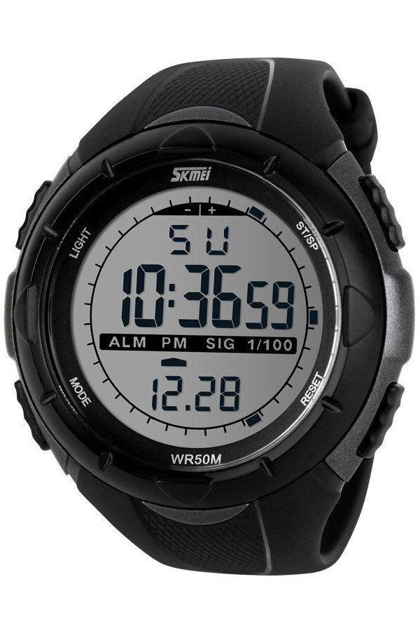 Skmei 1025 Digital Watch (Silver)