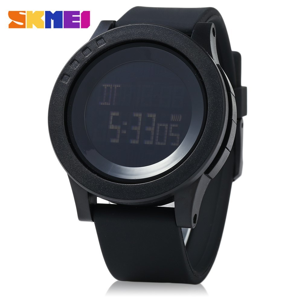 SKMEI 1142 Men Sport LED Digital Watch Water Resistance Running Wristwatch product preview, discount at cheapest price