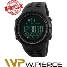 PHP 799. Skmei 1250 Smart Watch W.Pierce Men's Smart Sport Watch New SKMEI Brand Bluetooth Calorie Pedometer Fashion Watches Men 50M Waterproof ...