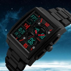 SKMEI 1274 Greadt Discounts Men Fashion Watches Smart Watch Chronograph Alarm Sport Clock Watwrproof ELD Light Digital Wristwatches S Sport - intl