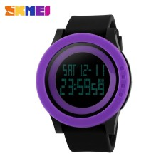 PHP 340. SKMEI Brand Watch Women Military Sports Watches Fashion Silicone Waterproof LED Digital ...