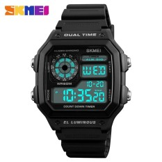 PHP 432. SKMEI Military Sport Watch Men Top Brand Luxury Famous Electronic LED Digital Wrist Watches Male ...