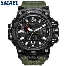 c4f09ba5350 SMAEL Brand Sport Watch Men s Fashion Analog Quartz LED Digital Electronic  Watch Men Multifunctional Waterproof Military