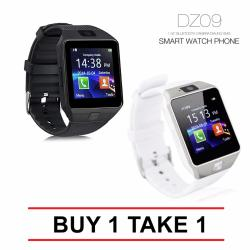 Smart Watch DZ09 with Camera for Iphone and Android Smartphones BUY 1 TAKE 1 (Black / White)