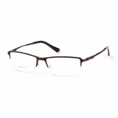PHP 699. Stallane Optical Myopia Frame Fashion Eyeglasses For Men Business Leisure Spectacle Half Frame Glasses(Black) ...