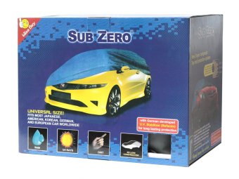 Sub Zero Woven AUV Car Cover (Blue)