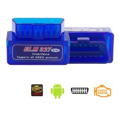 Super Mini Elm327 Bluetooth V2.1 Obd2 Wireless Car Diagnostic Scanner Universal Obd Ii Auto Scan Tool Work On Android Models:elm327 V2.1 Specification:a-L02bj-L By Redcolourful.