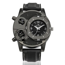 Three Trees V8 Super Speed Alloy Watch for Men. (Black)