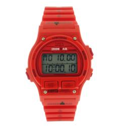 Timex Ironman 8 Lap Red Flame Digital Rubber Watch TW5M05000