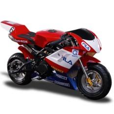 Tinker Motors GSX 49cc Pocket Rocket Sports Bike (Red/White)