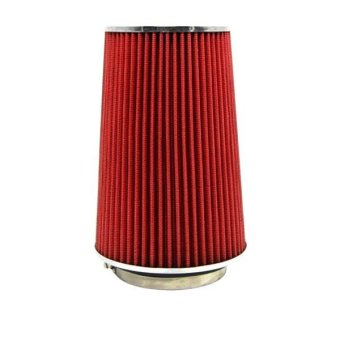 TIROL T21775 Car Modification Improve Air Intake Filter High Air Flow Mashroom Shape Type Filter 76 89 101mm - intl