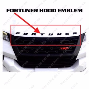 Philippines | Where to sell Toyota Fortuner 2018 Hood Emblem