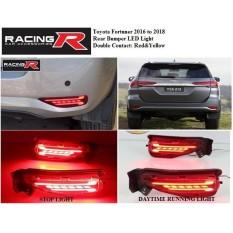 Toyota Fortuner 2016 to 2018 Rear Bumper LED Light V2