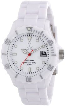 Toywatch Unisex White Resin Strap Watch FLO1WH - picture 2