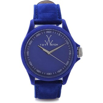 Toywatch Women's Blue Leather Strap Watch PE02BL
